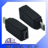USB 2.0 Mini-A 5-Pin Female to Micro-B USB Male Adapter F/M