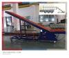 Anti-skid belt conveyor loader for containers, trucks, vans, tractors, etc
