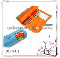 Novelty Polyester Round Pencil Pouch
