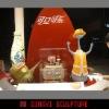 Coca Cola Series,theme park sculpture,Cartoon figure