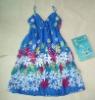 Factory wholesale spaghetti strap dress R1043 accept Paypal