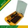 Best 38pcs electronic tool set/ precision magnetic screwdriver