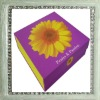 2012 good quality sisal decorative gift box for Christmas