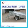 TIPPING GALVANIZED TRAILER(LT-106)