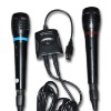 Dual microphone for PS 2/PS 3/Wii/XBOX360