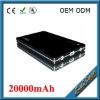 Portable 20000mah power bank for mobile/ipad/tablet/laptop/notebook