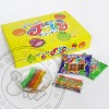 Wonderful and delicious fruit jelly sticks