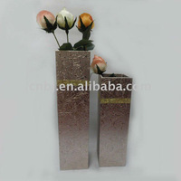 Chic Crocodile MDF flower vase