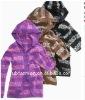 stripe hoodied cardigan kids sweaters
