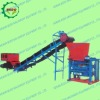 Concrete block making machine with small invest
