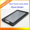 7 inch Touchscreen Mp4 player Ebook Reader