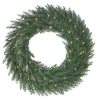 PVC christmas wreath with lights green christmas wreath with pine