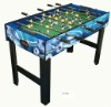 wooden mini soccer game table with color printing