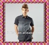 wholesale custom dress shirts manufacturers clothing fashion men dress shirts in yiwu