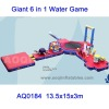 New Giant 6 in 1 Inflatable Water Game