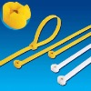 Nylon Cable Tie (Stainless Steel Plate Lock) NZ-1 Series