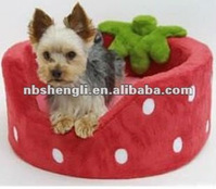 Pet Bed, Dog Accessories, Strawberry House
