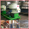 Flat-die biomass pellet machine wood