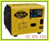 6KVA/5KW Small Silent Type Diesel generator HP6700LN with Electric Start (CE EPA CSA)