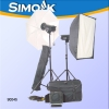 640W complete studio flash kit