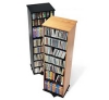 Swivel Multimedia Storage Tower