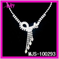 silver rhinestone necklaces jewelry