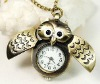 2012 lady owl pocket watch