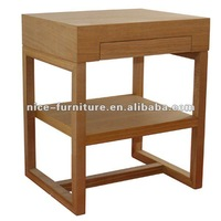 Wooden telephone side table with drawer and shelf designs 2012 new