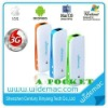 150Mbps Pocket Wireless 3G Router/Power Bank(SL-6808)