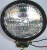 4 inch round sealed beam machineshop truck headlamp and tail light