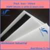 white HDPE Plate Manufacturer