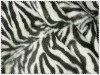 100% polyester fleece fabric printed tiger