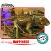 Nice alligator toy animation dinosaur