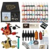 Cheapest Tattoo Kits 2 Machines 40 Colors Inks with Power Supply DIY-200