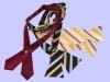 self free style silk/polyester bowtie