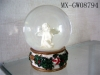 resin water globe,water globe,resin craft