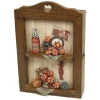 wooden craft,Key Box of Tomato Design (59-XH48132)