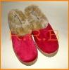 Faux suede warm shoes for Women