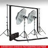 360W Photography Studio flash Kit Muslin Backdrop Support