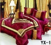 taffeta fabric bed sheet