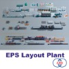 Layout of a EPS Molding Plant|EPS Production Line|EPS Machinery