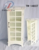 Wooden cabinet w/marble top