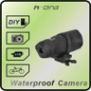 HD sports waterproof camera+internal memory +support SD card