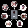 Anti-spy bug detector wired/wireless hidden camera Lens