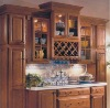 Solid wood door kitchen cabinet