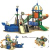 Outdoor playground;playground system;children paradise;park amusement