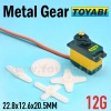 Digital Servo, 12g Metal Gear Standard Servo for Helicopter