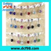 14g 3/8 Belly Button Navel Rings Ring Bar Body Piercing Jewelry crystal gem