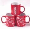 ceramic mug, nescafe mug, promotion mug