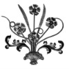 Wall Decor Wrought Iron Flower / Metal Wall Decor